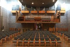 Louis Kahn Unitarian Church Rochester NY Louis Kahn, Conference Room, Table, Home Decor, Meeting Rooms, Interior Design, Home Interior Design, Desk, Tabletop