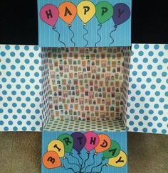 Care Package Box Kit Happy Birthday by BekProductions on Etsy Missionary Care Packages, Deployment Care Packages, Easy Diy Gifts, Creative Gifts, Birthday Box, Happy Birthday, Birthday Care Packages, College Gifts, Box Packaging