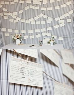 Mad libs + guest book table = great idea by diane.hocking