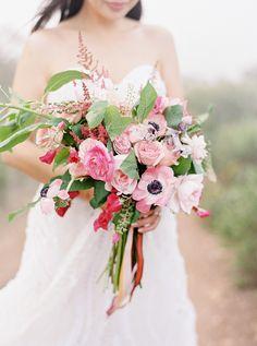 Photography: Coco Tran - cocotran.com  Read More: http://www.stylemepretty.com/california-weddings/2014/10/31/romantic-foggy-after-wedding-portraits/
