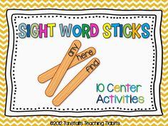Making Sight Words STICK! - Tunstall's Teaching Tidbits