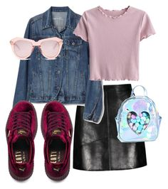 """Без названия #3"" by zagoruyko-i on Polyvore featuring мода, Puma, Sugarbaby и Karen Walker"