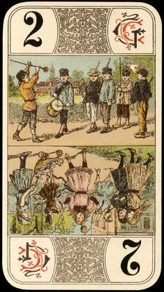 vintage playing card from e-vint.com