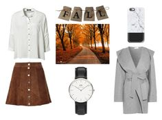 """Fall look"" by yseultdel ❤ liked on Polyvore featuring Barbara Casasola, VILA, Daniel Wellington, Casetify, A.L.C., Fall and look"