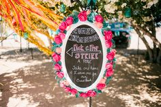 DIY Photo booth sign, Pick a Prop and Strike a Pose