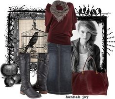 """Caged Bird"" by hannah-joy on Polyvore"