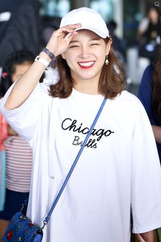 Korean Women, South Korean Girls, Korean Girl Groups, Jung Chaeyeon, Choi Yoojung, Kim Sejeong, Cosmic Girls, Hollywood Celebrities, Airport Style