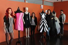 Students from Instituto Profesional AIEP represent AIEP's School of Costume Design at Fashion Week in Mendoza, Argentina. #Fashion #Laureate