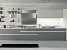 Cucine Moderne Grigio.40 Fantastiche Immagini Su Cucine Grigie Nel 2019 Cucine