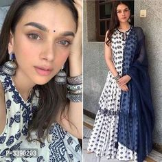 Rayon Kurti And Palazzo With Dupatta by Sakhi Fashion - Online shopping for Kurtas on MyShopPrime - Indian Designer Suits, Ethnic Wear Designer, Kurti Designs Party Wear, Kurta Designs, Dress Designs, Indian Wedding Outfits, Indian Outfits, Pakistani Outfits, Indian Attire