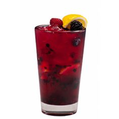 Add fresh fruit to this Raspberry Sangria for an easy fall dinner cocktail