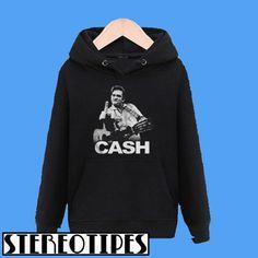 153b98145 Johnny Cash Middle Finger Guitar Hoodie