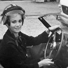 Picture of Claudine Auger Bond Girls, Car Girls, Claudine Auger, Ursula Andress, James Bond, Hot Cars, Famous People, The Incredibles, Style Inspiration