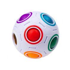 Rainbow 3D Fidget Ball