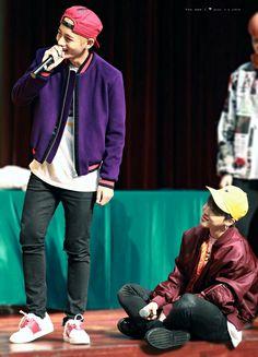 Tae and Jimin
