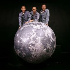 Apollo 11 astronauts, Neil Armstrong, Michael Collins and Buzz Aldrin