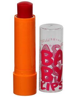 Beach bag essential: Baby Lips Lip Balm in Cherry Me.