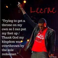 Lecrae, 'Anomaly' http://www.huffingtonpost.com/2014/09/29/lecrae-christian-rapper_n_5900776.html