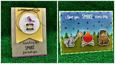 Check out http://lawnfawn.com to see our products, more ideas and inspiration! In this video Lawn Fawn owner Kelly Marie introduces our new set, Love You S'm...