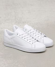 sports shoes 4a1b6 2b122 adidas Originals Rod Laver  White White Fashion Sneakers, Men s Sneakers,  Sneakers Fashion Outfits