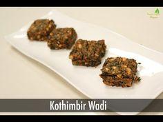 Kothimbir Wadi | Maharashtrian Snacks | Sanjeev Kapoor Khazana - YouTube