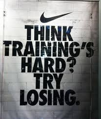 I am so competitive I love this. I hate losing at anything {unless its weight, ha}.and that in itself is a motivation to me. Motivacional Quotes, Nike Quotes, Life Quotes Love, Sport Quotes, Quotes To Live By, Rugby Quotes, Motivational Quotes For Athletes, Motivational Posters, Change Quotes