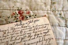vintage letter | Tumblr