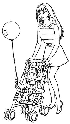 185 best barbie coloring pages images