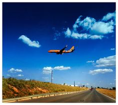 Mango flight approaching Lanseria Airport, Jozi (how we refer to Johannesburg) International Airport, South Africa, Fighter Jets, Mango, Aircraft, City, Places, Travel, Beautiful