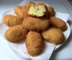 Crocchette di riso con prosciutto e fontina | Ricetta