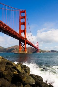 Golden Gate Bridge. I want to go see this place one day. Please check out my website thanks. www.photopix.co.nz