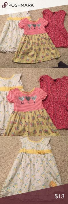 3 dresses for baby girl Sizes 3T & 4T 3 dresses for baby girl Sizes 3T & 4T in nice condition #350 Dresses Casual