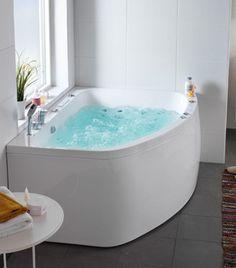 Större bubbelbad    Aqua massagebadkar