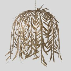 weeping willow chandelier. i'm going to try and make this out of paper.