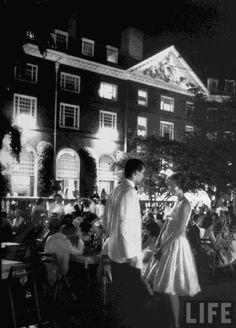 Eliot House Fête, 1941, Harvard University.