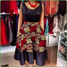 Look at this Fashionable african fashion African Dresses For Women, African Print Dresses, African Attire, African Wear, African Fashion Dresses, African Women, African Prints, Ankara Fashion, African Style