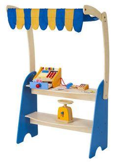 51f078c1e091 Market Checkout picture Kids Wooden Play Kitchen