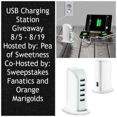 USB Charging Station Giveaway (ends 8/19)