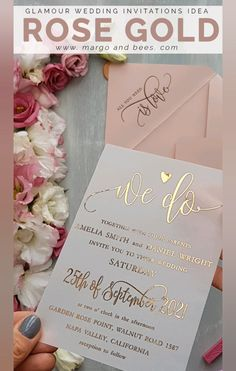 Simple wedding invitations with lettering and blush paper. Perfect idea for modern, glamour wedding ceremony. wedding invitations diy Simple wedding invitations with rose gold lettering Vintage Wedding Invitation, Blush Wedding Invitations, Personalised Wedding Invitations, Elegant Wedding Invitations, Wedding Stationery, Modern Invitations, Make Your Own Wedding Invitations, Free Printable Wedding Invitations, Wedding Invitation Card Design