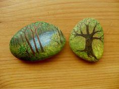 zoja - Fotoalbum - iné - ine - malba kame-les, strom