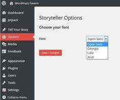 Storyteller Options