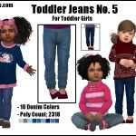Toddler Jeans No. 5 -Original Content-