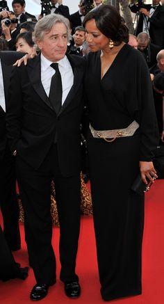 Grace Hightower y De Niro en Cannes