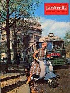 Lambretta factory magazine. October - December 1957