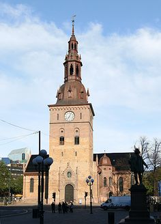Oslo Cathedral, (1694)  Karl Johans gate, Oslo, Norway,