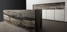Cucina moderna / in marmo / laccata INCA by Silvano Bonetti & Alberto Minotti minotti cucine