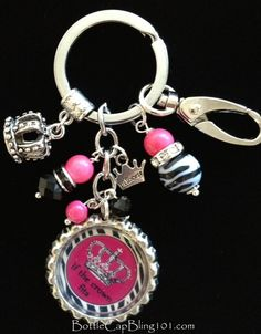 """If The Crown Fits"" key chain $20 FREE SHIPPING"