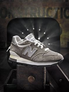 Buttery NB Suede. None is smoother.  Love the style of the shot too.