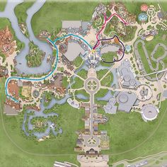 3 routes for DisneyWorld's Majic Kingdom Bridal Portrait Sessions. ;)