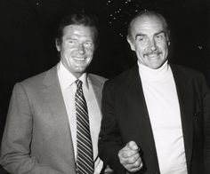 Sean Connery pays tribute to fellow James Bond Sir Roger Moore